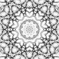 黑白印花设计