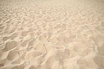 沙漠中脚印背景素材