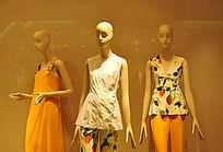 时尚服装模特