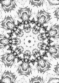 四方连续纹样数码印花花型