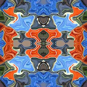 四方连续纹样图案