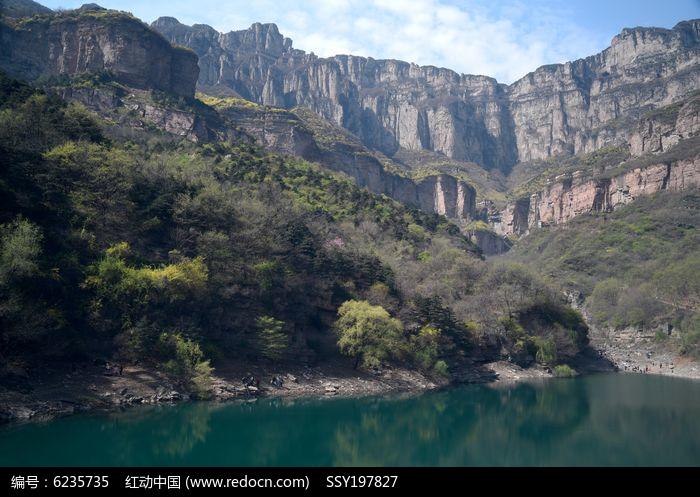 河南林州黄华山风景图片