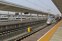 黄山北高铁列车