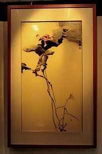 三林刺绣荷花
