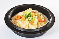 虾干豆腐煲