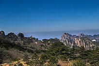 黄山蓝天云海
