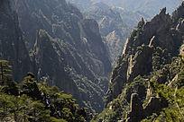 黄山西海峡谷