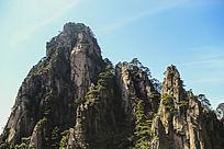 黄山秀峰美景