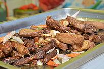 美食节草原烤羊排
