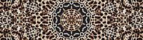 豹纹花型豹纹数码印花