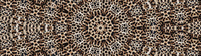 面料豹纹数码印花花型