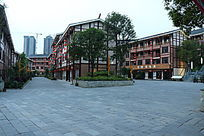 民族风情建筑摄影图