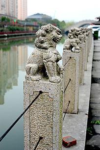 三林塘石狮子