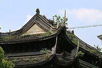 中国古建筑飞檐翘角