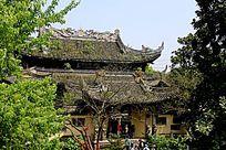 中国古建筑西施殿