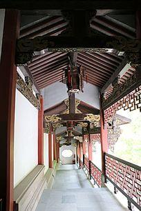 中国古建筑走廊