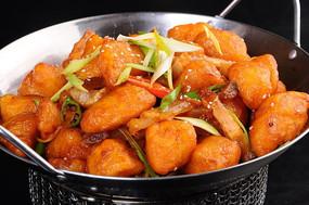 韭香腌肉小土豆
