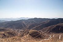 春季鲁中山区自然风光