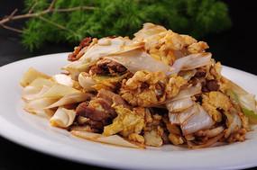 大葱鸡蛋炒腌肉