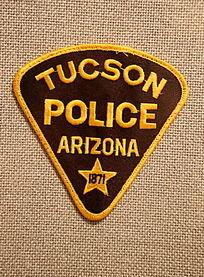 美国警察臂章三角形图案