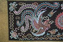 水族马尾绣凤凰图案