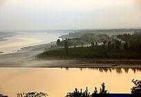 黄河望远眺望远方