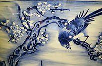 喜鹊与梅花