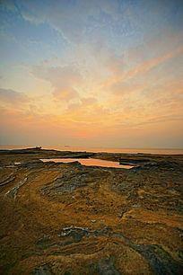 岩石海边风景
