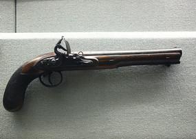 英国前装式火药枪