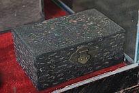 古代木盒文物展示