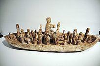 加纳渔业丰收巫术祭司船