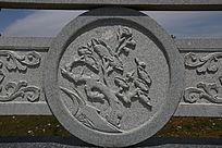 喜鹊梅花图案石雕