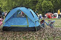 绿色休闲帐篷