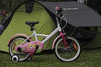 休闲帐篷与童车