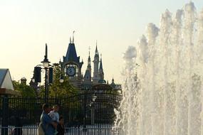 迪士尼城堡正门