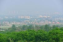 绿色城市远景