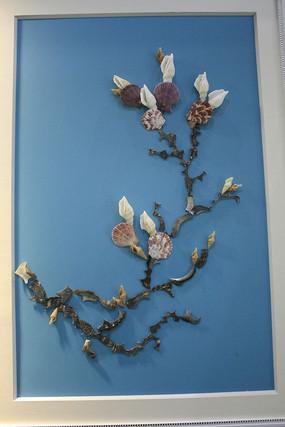 貝殼裝飾畫