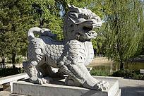 雕塑麒麟石雕