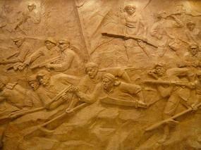 农民运动雕塑