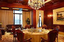 高档餐厅实景图