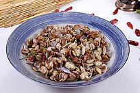 中国菜炒蛤蜊