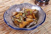 中国菜芸豆炒土豆