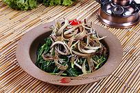 中国菜韭菜鱼丝