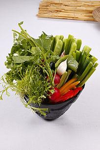 中国菜什锦蔬菜
