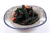 中国菜糖腌黄瓜