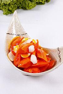 中国菜特色木瓜