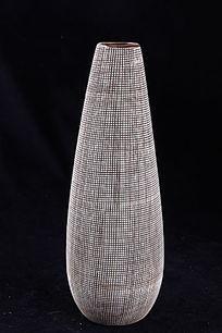 艺术布纹瓷器饰品花瓶