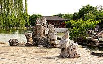 北京大观园园林设计图片