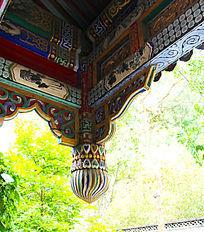 古代建筑门庭吊脚图片