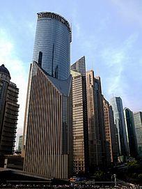 上海陆家嘴中国银行总部大楼